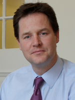 Image for Deputy Prime Minister Nick Clegg wishes Autism Sunday 2011 well