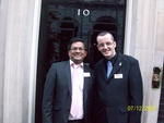 Image for Autism Campaigners Ivan Corea and Kevin Healey at the Downing Street Autism Summit