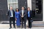 Image for UK Autism Foundation at 11 Downing Street